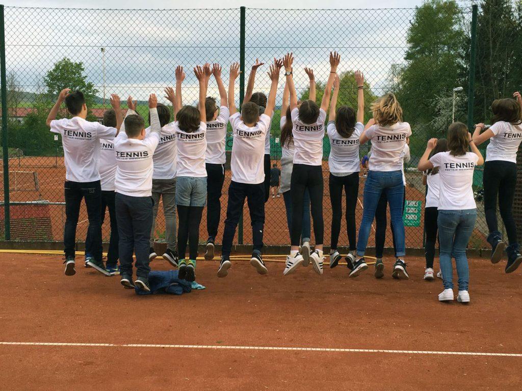 Unsere Tennis Jugend des TSV/DJK Wiesentheid